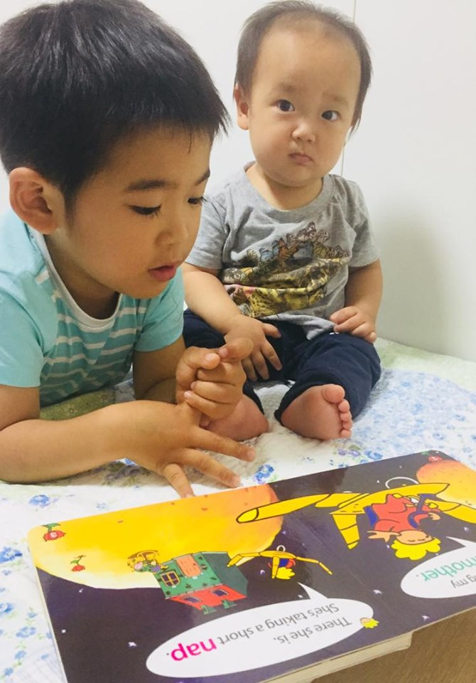 ママよんで!わが子にえいご絵本の時間~ 遊びにいらしてください^^イベント開催中です