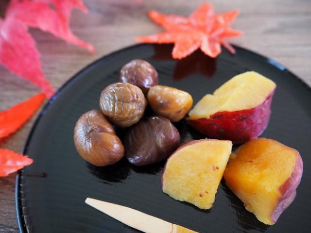 秋の味覚を味わおう
